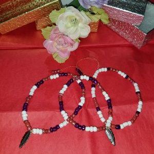 Jewelry - Three Hand-made Bracelets